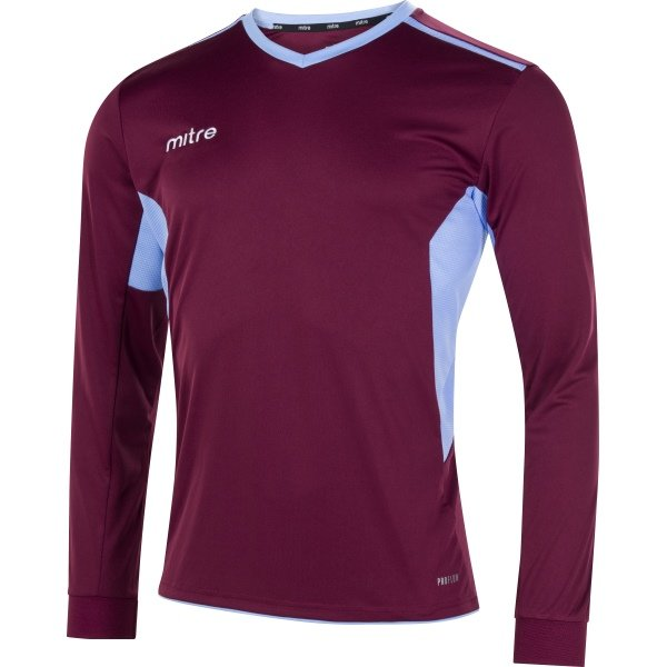 Mitre Diverge Maroon/Sky Football Shirt