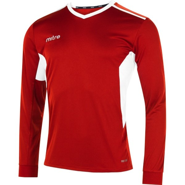 Mitre Diverge Scarlet/White Football Shirt