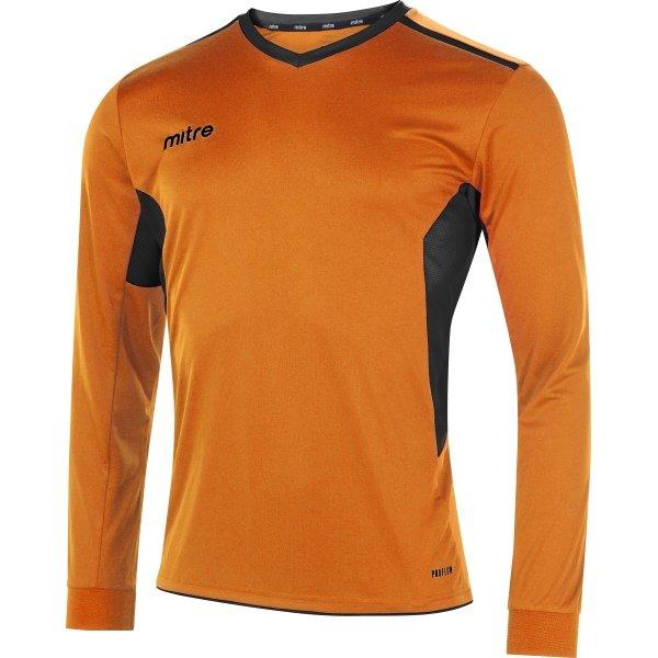 Mitre Diverge Tangerine/Black Football Shirt
