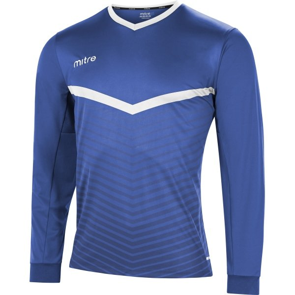 Mitre Unite Royal/White Football Shirt