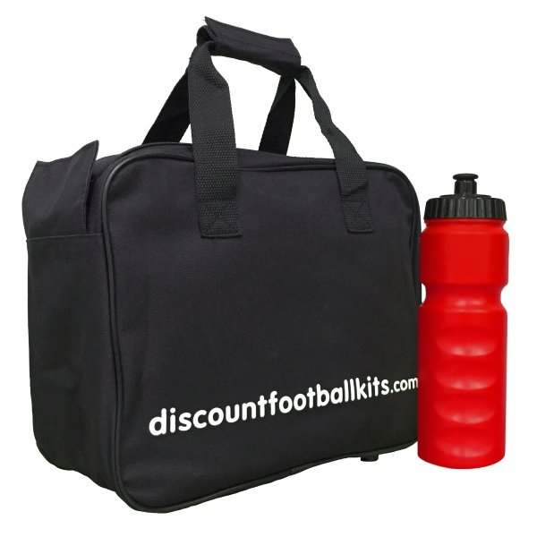 8 Water Bottles & Carry Bag Red Bottles