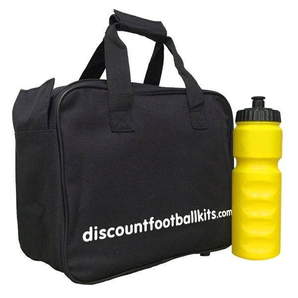 8 Water Bottles & Carry Bag Yellow Bottles