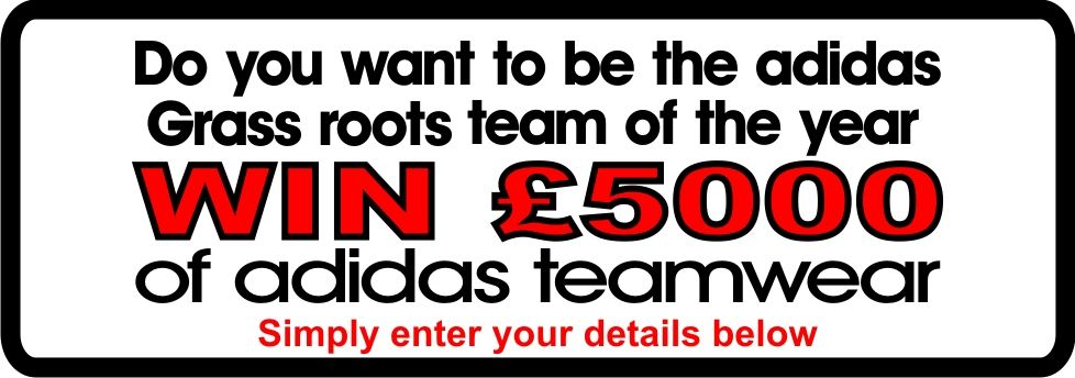 win £5000 of adidas teamwear
